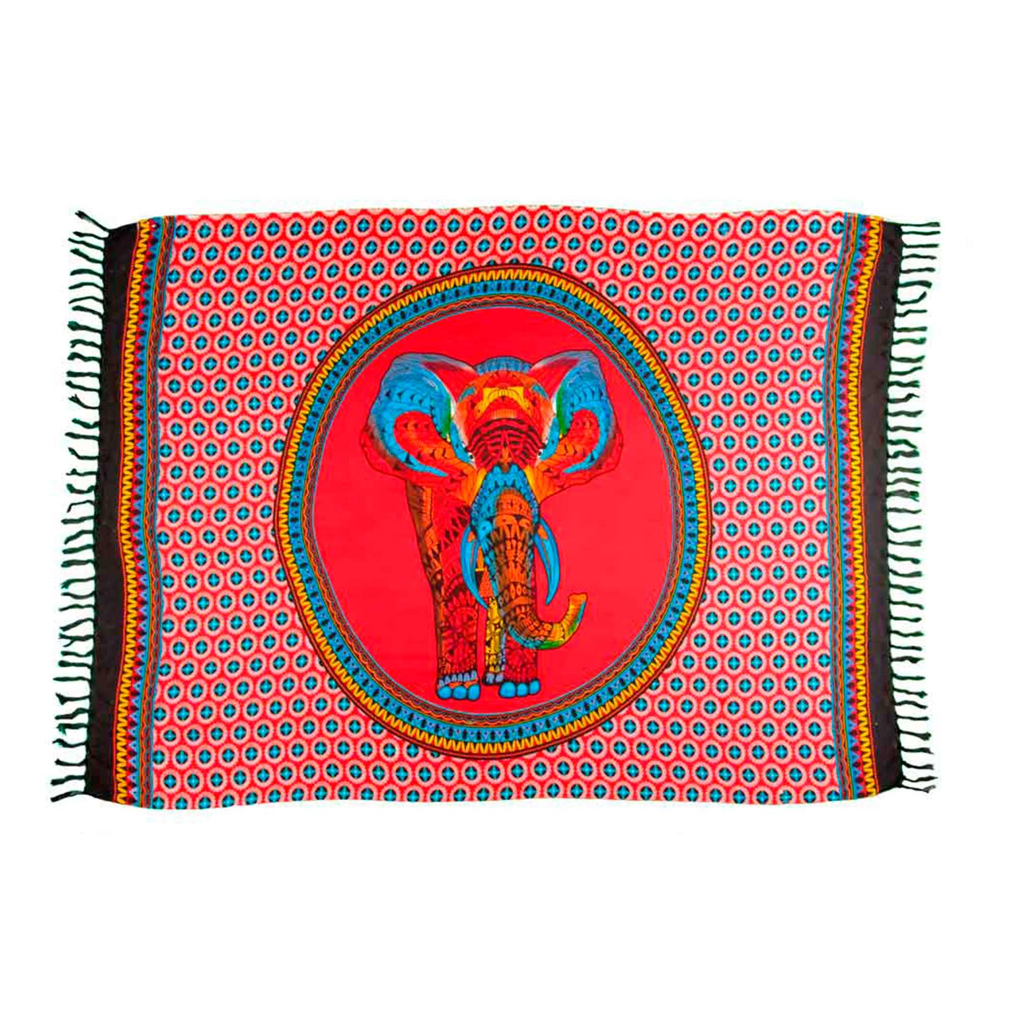 Canga Mandala Elefante Rainbow