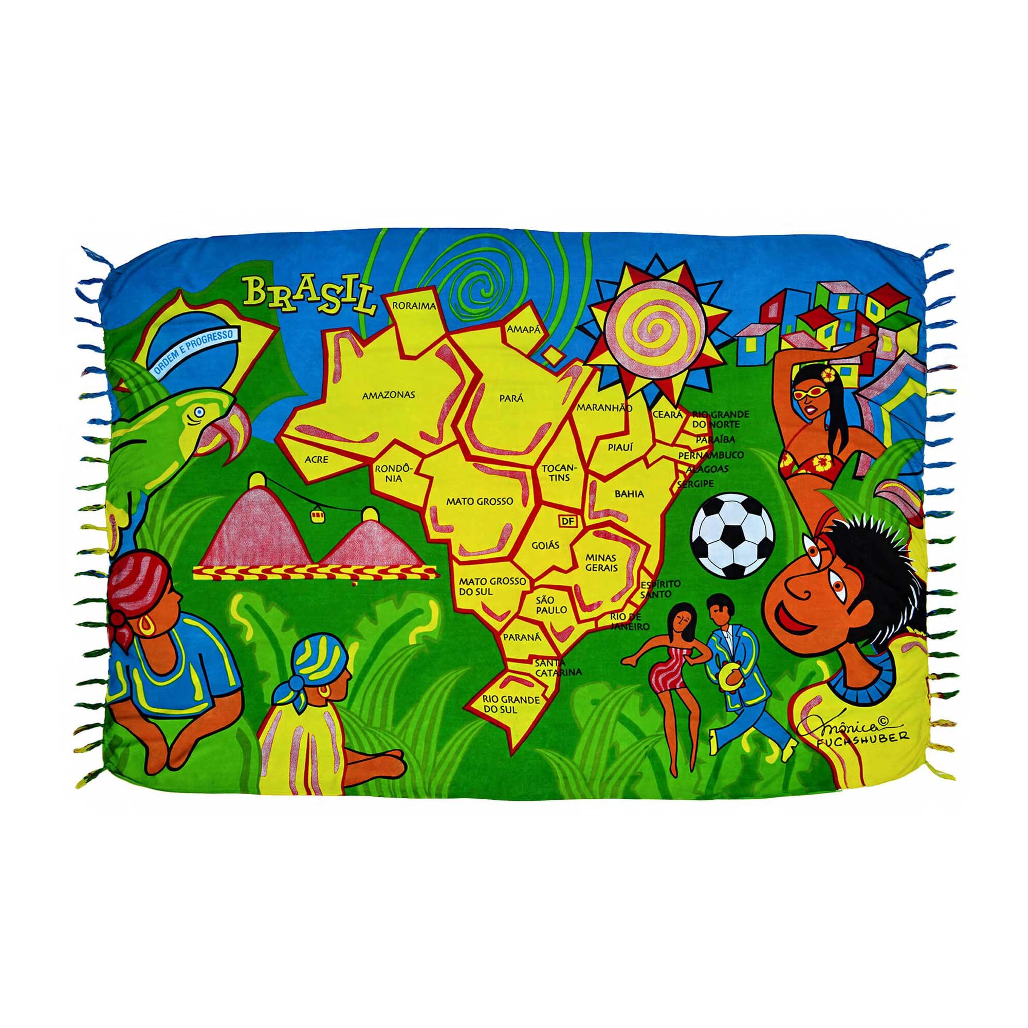 Canga Mapa Brasil