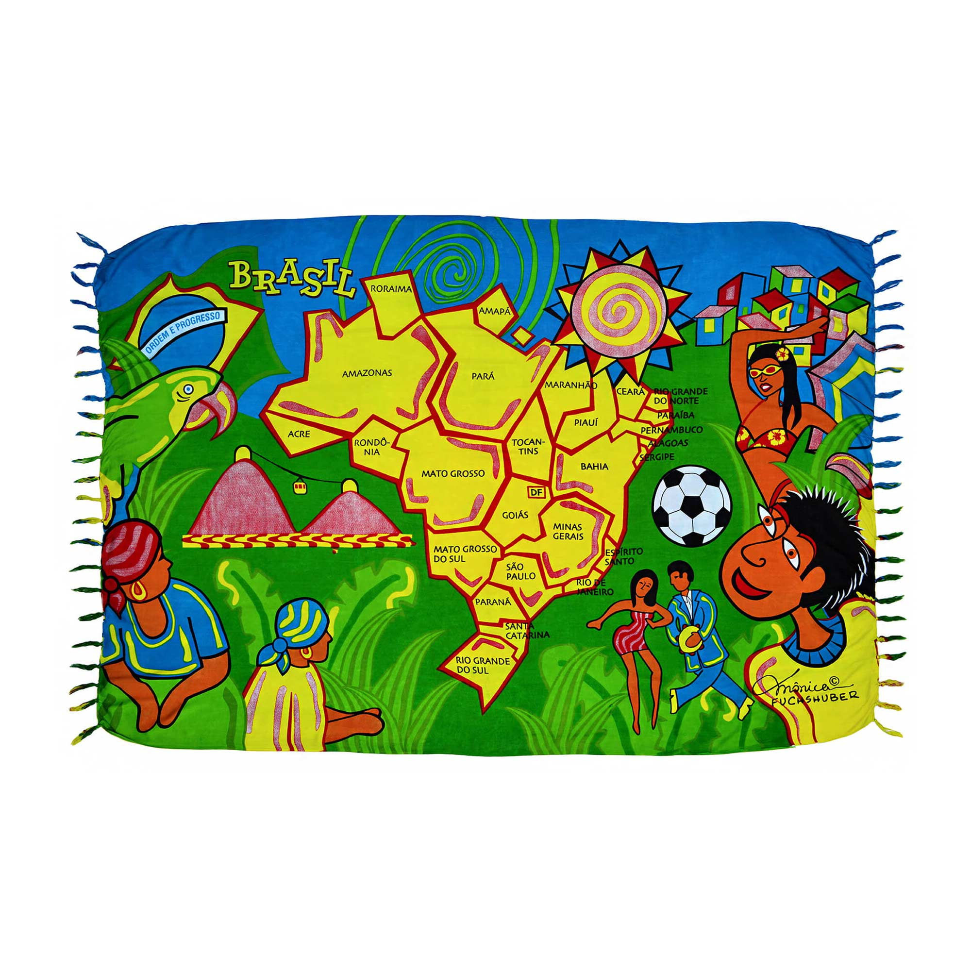 Canga Brasil Mapa