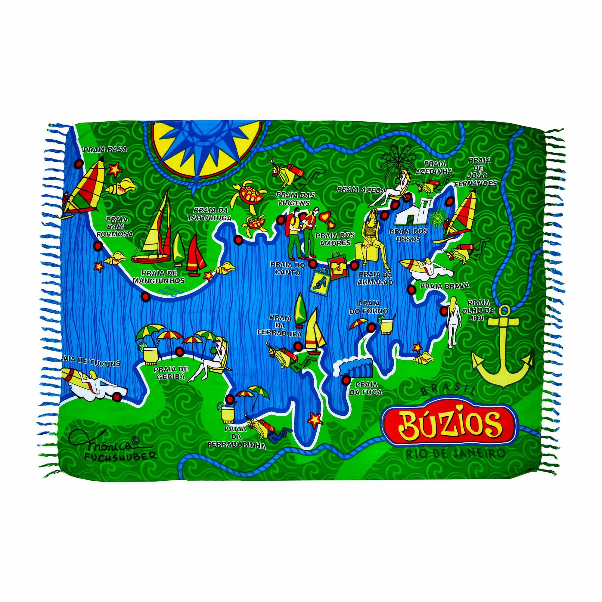 Canga Búzios Mapa