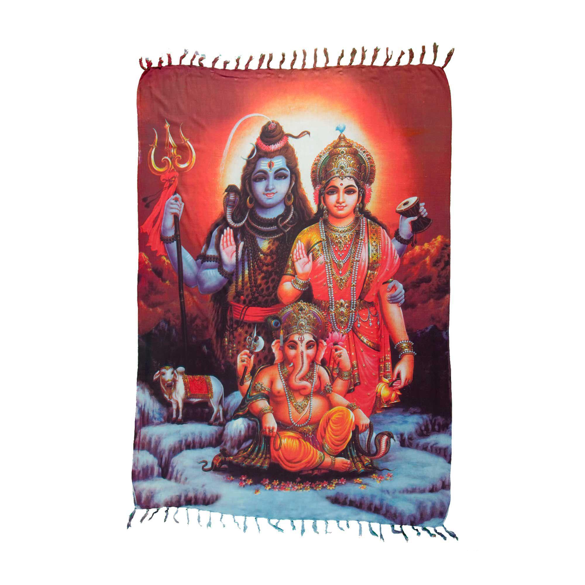 Canga Tiga Dewa - Shiva, Parvati e Ganesha