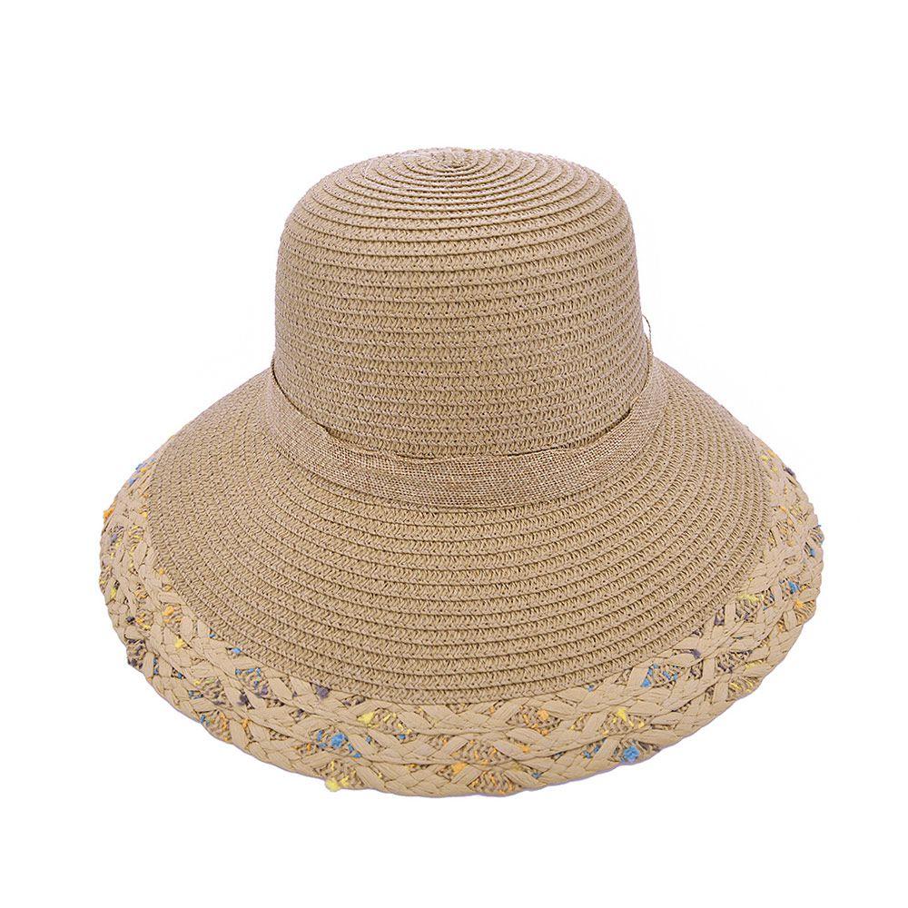 Chapéu De Praia Com Laço Duplo