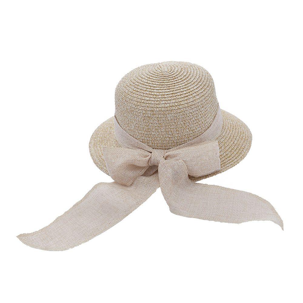 Chapéu De Praia Com Fita