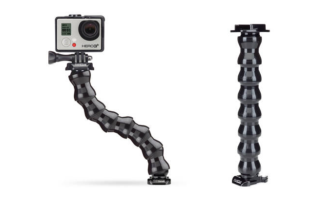 Haste Flexivel Gopro (gooseneck)  - MAB AIRSOFT