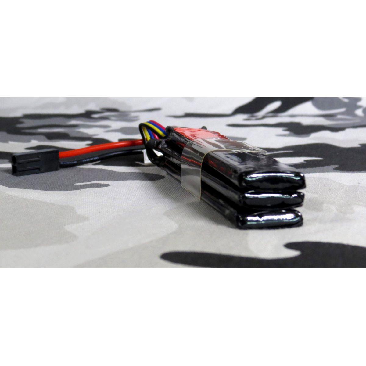 Bateria Li-Fe Flame 9.9V 15C - 1000 mAh (3 tabletes)  - MAB AIRSOFT