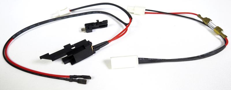 Switch / Fiação Gearbox G36 (Alta Temperatura) - SRC  - MAB AIRSOFT