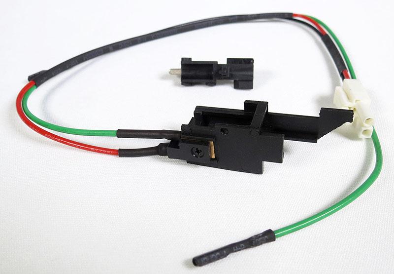 Switch / Fiação p/ Bateria na parte do Stock Gearbox V3 AK (Alta Temperatura)  SAK-08 SRC