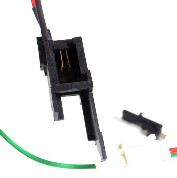 Switch / Fiação p/ Bateria na parte do Stock Gearbox V3 AK (Alta Temperatura)  SAK-08 SRC  - MAB AIRSOFT