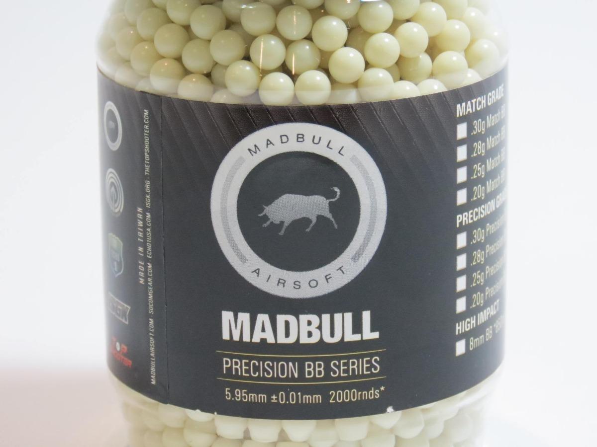 BB 0,20g Madbull Tracer (2000 und)  - MAB AIRSOFT