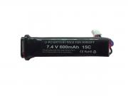 Bateria Lipo SMP 7.4V - 15C - 600 mAh (1 tablete) para Pistola #