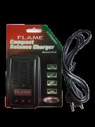 Carregador Flame para bateria Litio-polimero de 2 e 3 celulas