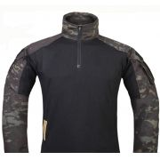 Combat Shirt EMERSON GEAR - Multicam Black Tam XL