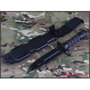 Faca Baioneta Fake - cor: Preto