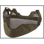 Mascara Proteção (boca/nariz/orelha) - Cor: Verde
