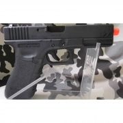 Pistola Airsoft WE Glock G18 Gen 3 GBB Metal e Polimero Preta - Calibre 6 mm