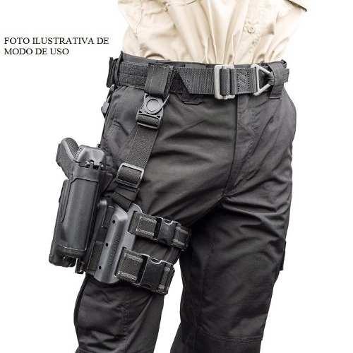 Coldre de Perna Blackhawk em Polímero - Mod. M9  - MAB AIRSOFT