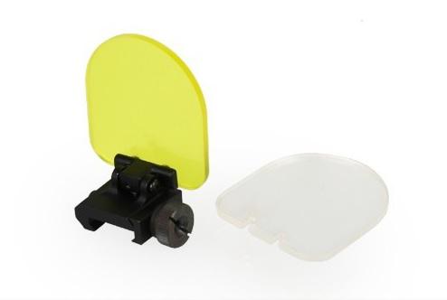 Protetor Para Red Dot rebatível com duas lentes