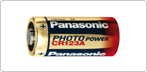 Bateria CR123  - MAB AIRSOFT