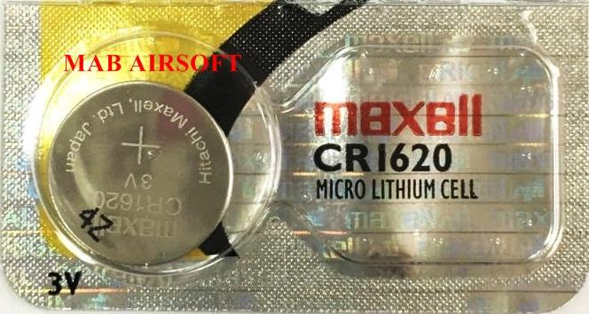 Bateria CR1620  - MAB AIRSOFT
