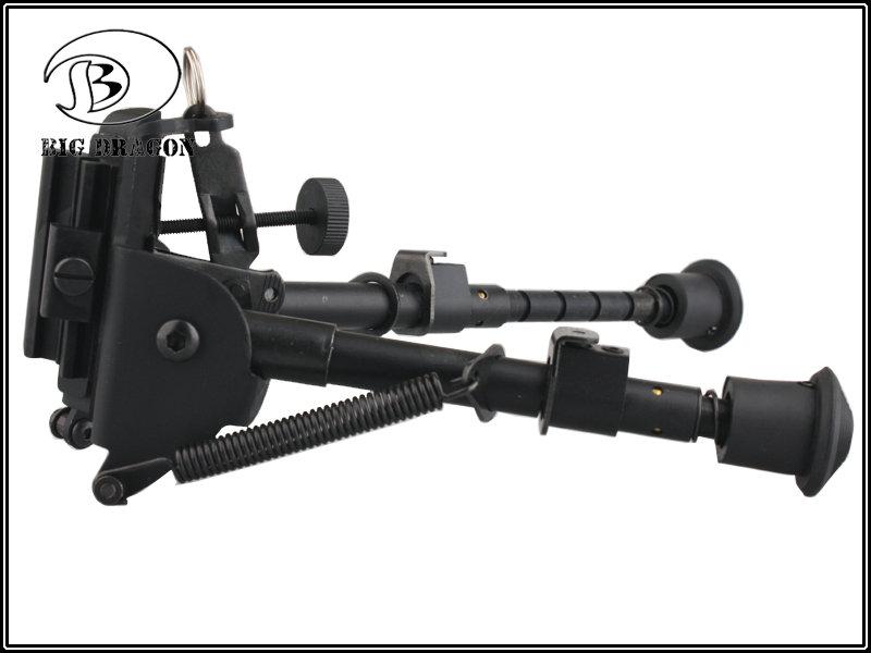 Bipé Retrátil Sniper / DMR c/ mola  - MAB AIRSOFT