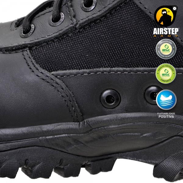 Bota Airstep Black 8627-1  - MAB AIRSOFT
