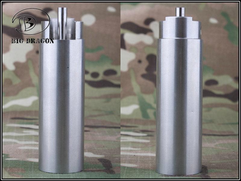 Cilindro com Cabeça de Cilindro Integrado - Ver. 3  - MAB AIRSOFT