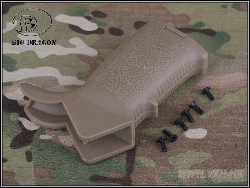 Grip Motor Modelo Magpul - Cor: TAN  - MAB AIRSOFT