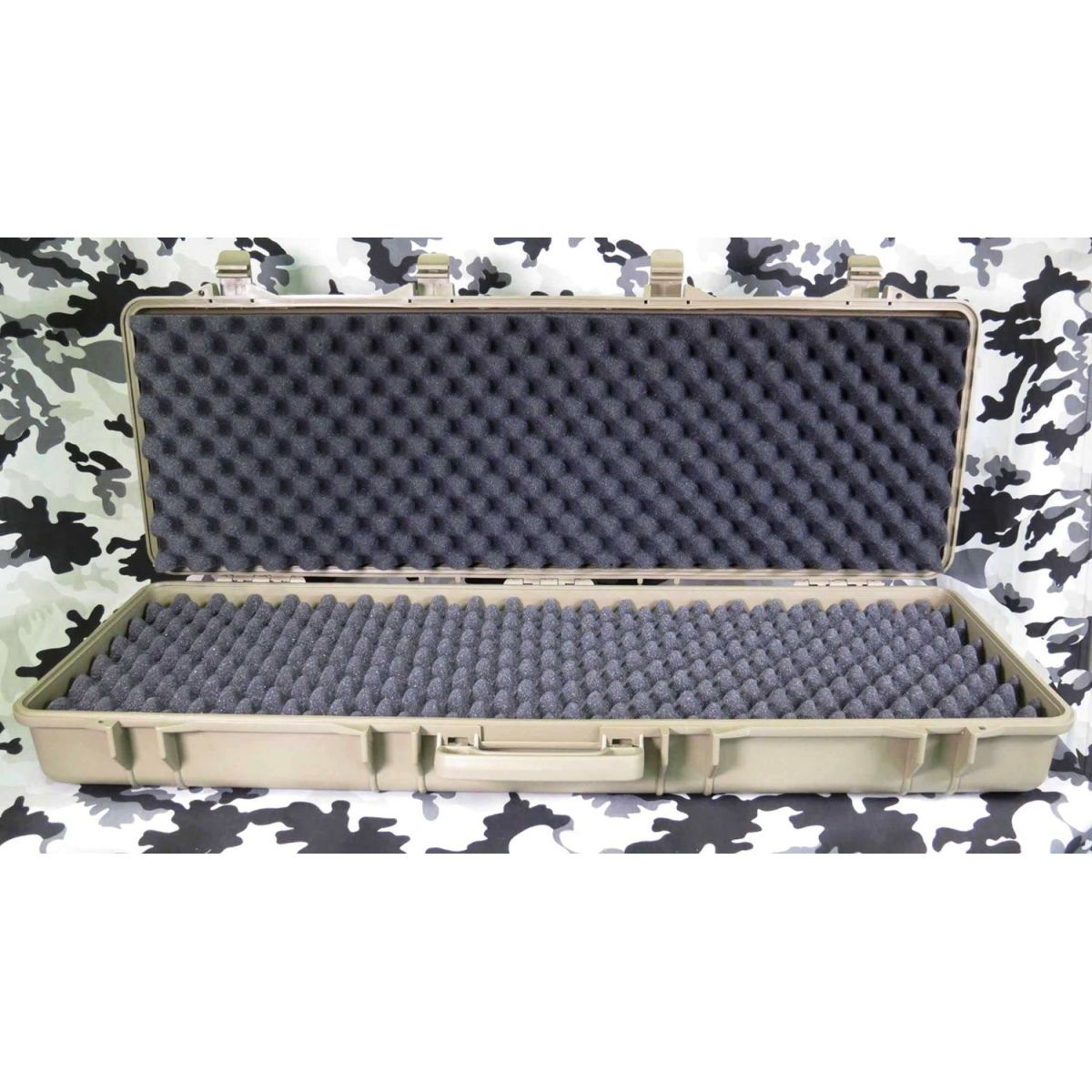 Case Plástico para Rifle - Cor: TAN  - MAB AIRSOFT