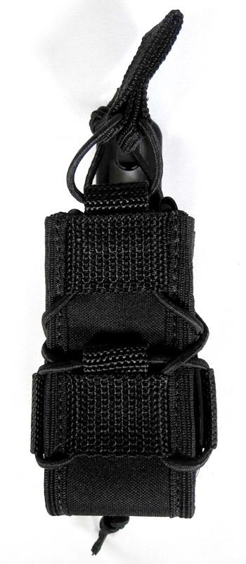 Porta Magazine MOLLE  Pistola (Tacos/Kydex) - Cor: Preta AN  - MAB AIRSOFT
