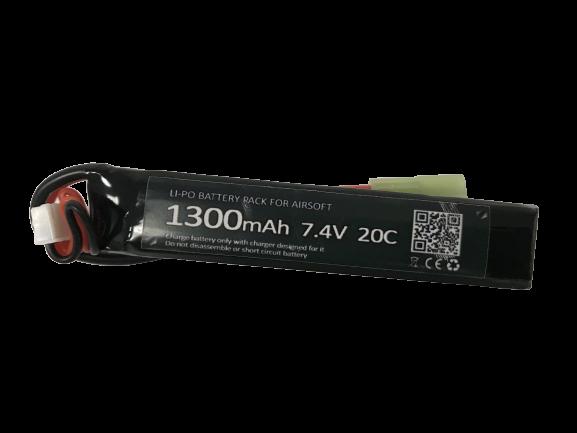 Bateria Lipo SMP 7.4V - 20C - 1300 mAh (1 pack)