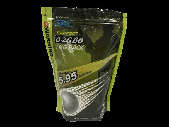 BB 0,20 g Perfect SRC 5000 und (1 Kg)   - MAB AIRSOFT
