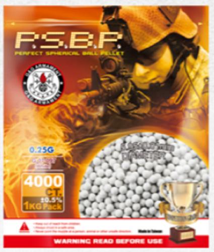 BB 0,25g P.S.B.P G&G 1Kg  (4000 unid)