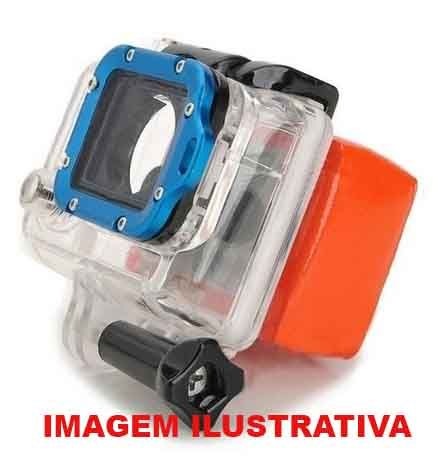 Boia GoPro Floaty  com Adesivo 4 / 3 / 3+ / 2  - MAB AIRSOFT