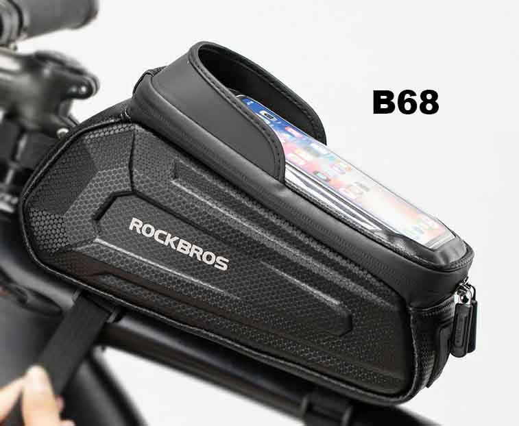 Bolso de Quadro com Porta Celular RockBros 4 - B68  - MAB AIRSOFT