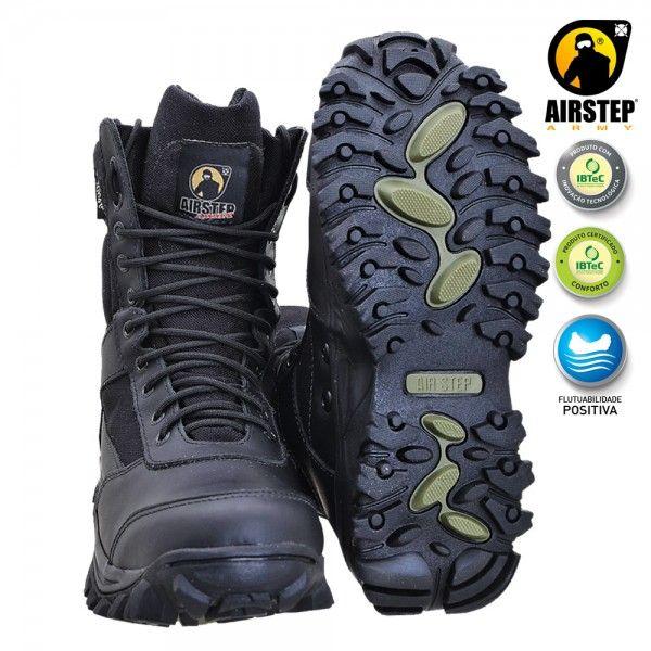 Bota Airstep Black 8627-1