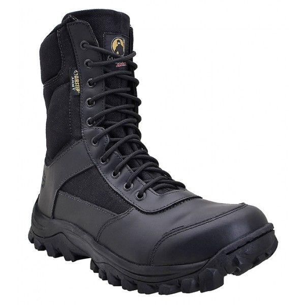 Bota Airstep Combat Black 8628-1
