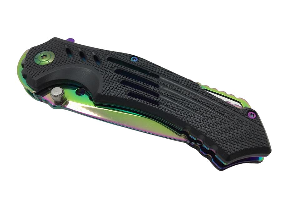 Canivete Tatico CS GO Fade Rainbow  (FL170161-2) #  - MAB AIRSOFT