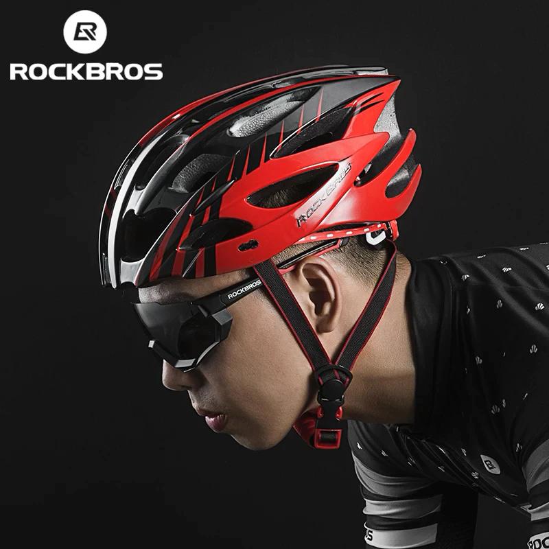 Capacete Bike Rockbros Vermelho / Preto MTB-Speed  - MAB AIRSOFT