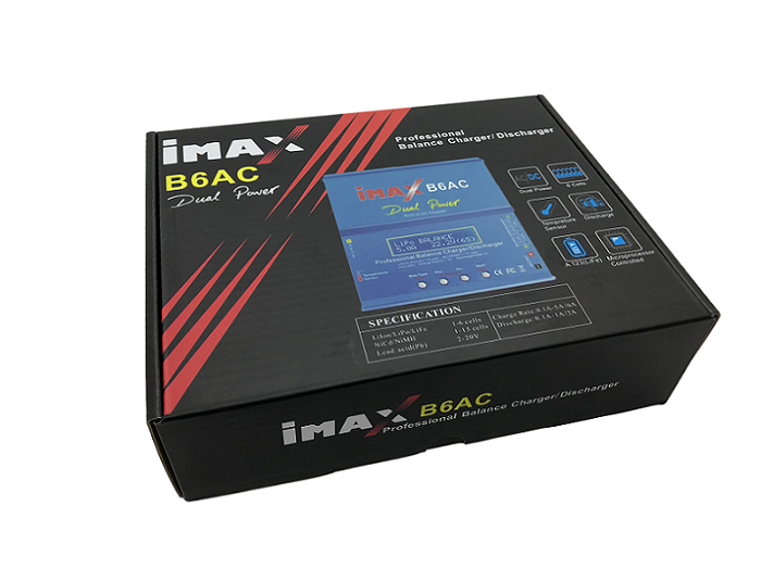 Carregador de Bateria IMAX B6AC #