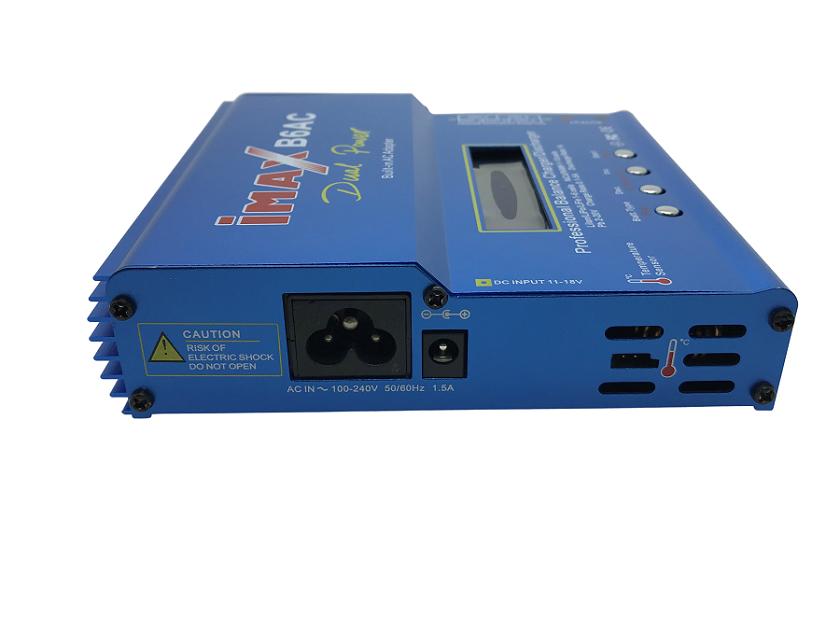 Carregador de Bateria IMAX B6AC  - MAB AIRSOFT
