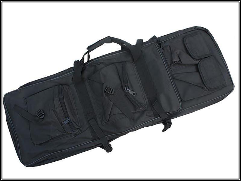 Case Semi Duplo p/  Transporte de AEGs - Cor: Preto (100 cm)