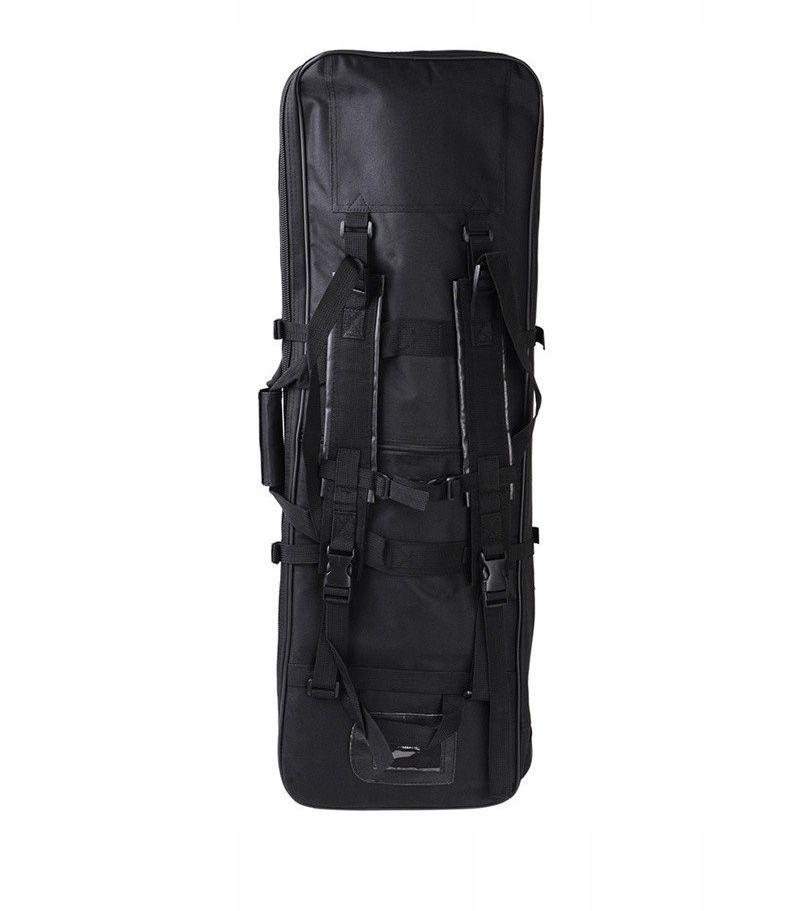 Case Semi Duplo p/  Transporte de AEGs - Cor: Preto (100 cm)  - MAB AIRSOFT