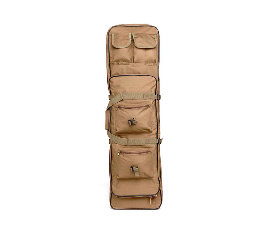 Case Semi Duplo p/  Transporte de AEGs - Cor: TAN (90 cm)  - MAB AIRSOFT