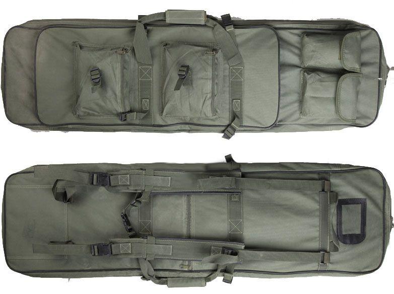 Case Semi Duplo p/  Transporte de AEGs - Cor: Verde (100 cm)  - MAB AIRSOFT