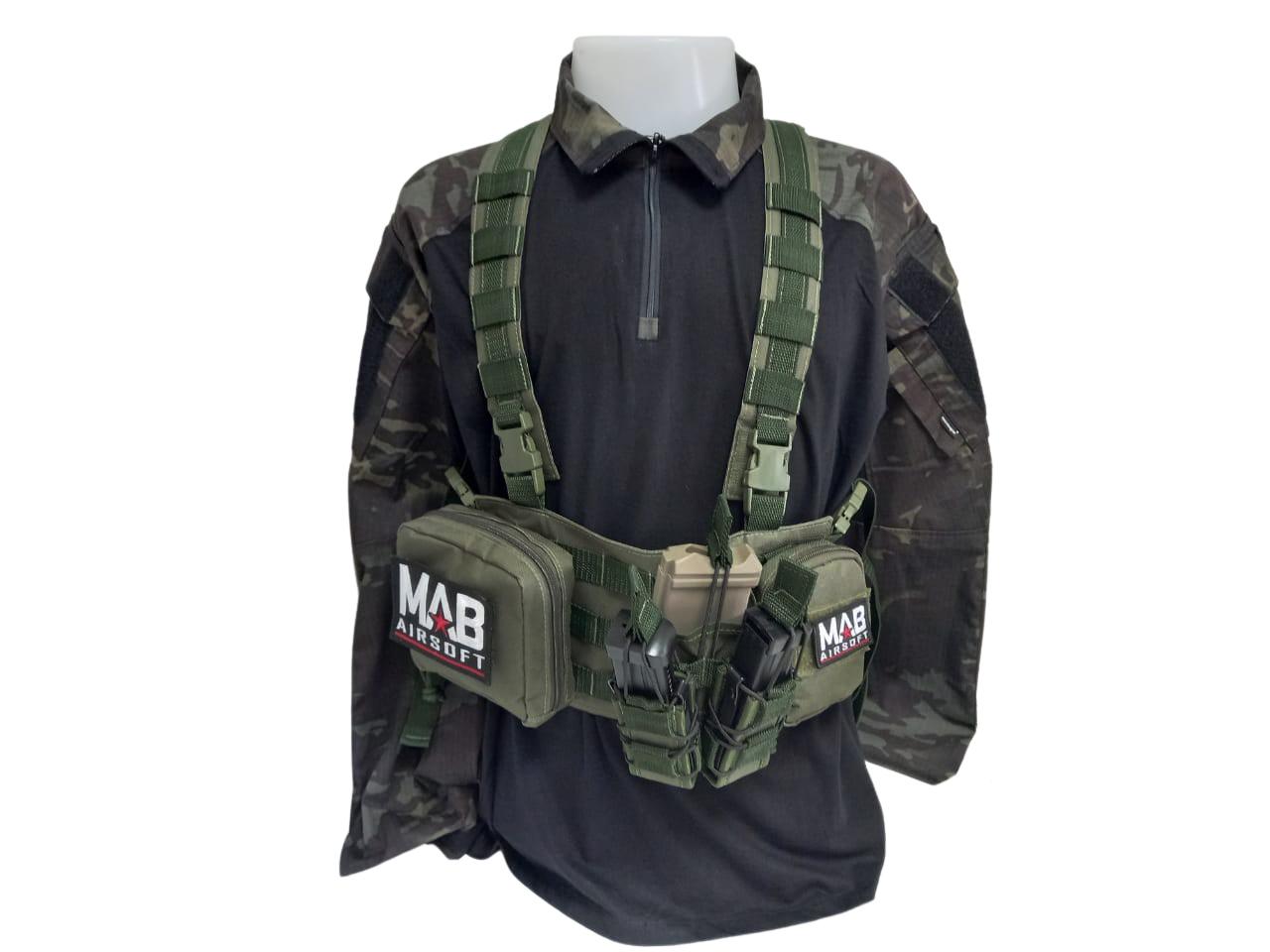 Chest Rig MAB Airsoft  - MAB AIRSOFT
