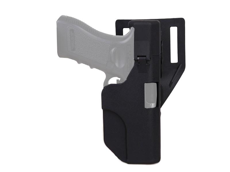 Coldre de Cinto em Polímero p/ Glock - Cor Preta  - MAB AIRSOFT