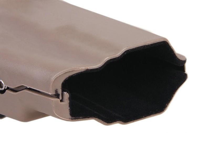 Coldre de Cinto Universal em Polímero Emerson-(579) - Cor TAN  - MAB AIRSOFT
