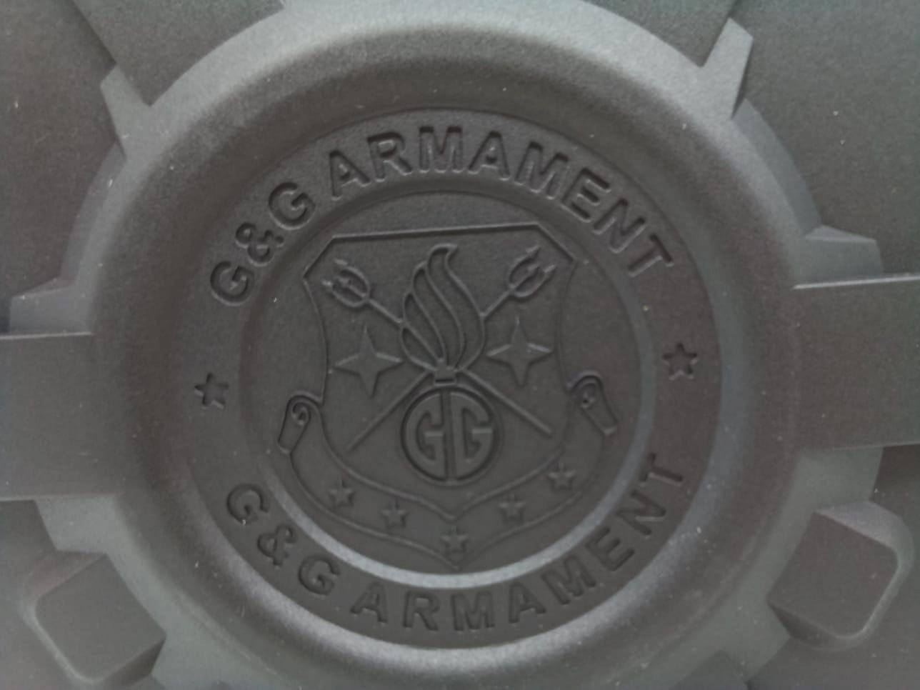 Drum Mag G&G M4/M16 Hi-Cap 2300 BBs  - MAB AIRSOFT