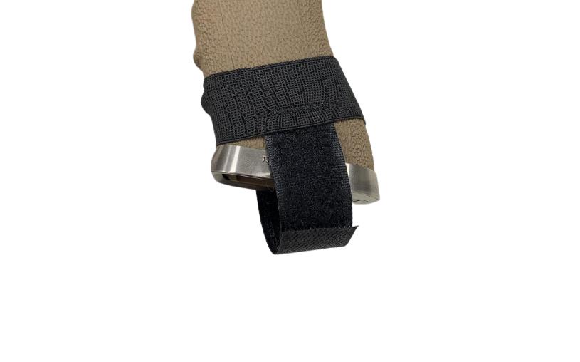 Elástico Proteção para Magazine Pistola - Cor: Preta  - MAB AIRSOFT