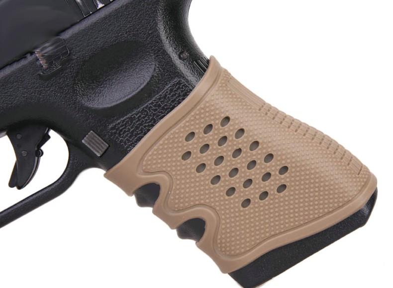 Empunhadura p/ pistola Glock - Cor: Preto  - MAB AIRSOFT